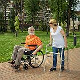 Кресло-коляска для инвалидов H 007 (17, 18, 19 дюймов), фото 10