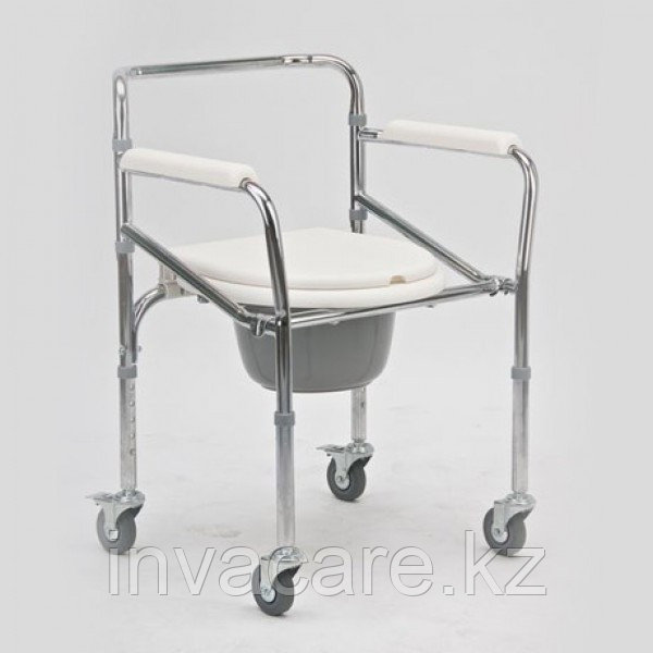 """Кресло-коляска с санитарным оснащением для инвалидов """"Armed"""" FS696"""