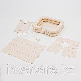 Комплект для мытья головы ванна надувная, емкость для воды, защитный фартук