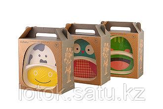 Набор детской посуды из бамбука «Bamboo Kids Set»