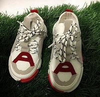 Кроссовки детские белый/серый Li-Ning размеры 26-30