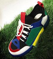 Кроссовки подростковые черные Li-Ning размеры 30-36