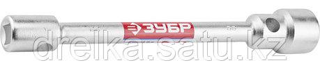 """Ключ баллонный торцовый ЗУБР """"МАСТЕР"""" двухсторонний, 24х27мм, фото 2"""