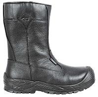 Зимние кожаные сапоги с защитным носком NEW FREEZER S3 WR CI HRO SRC COFRA