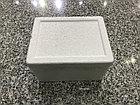 Настольный бокс на 4 модуля, серебро, встраиваемая розетка в стол, фото 4