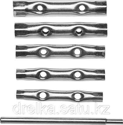 Набор DEXX: Ключи трубчатые, 8-17мм, 6 предметов , фото 2