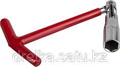 Ключ свечной STAYER с шарниром, 16мм