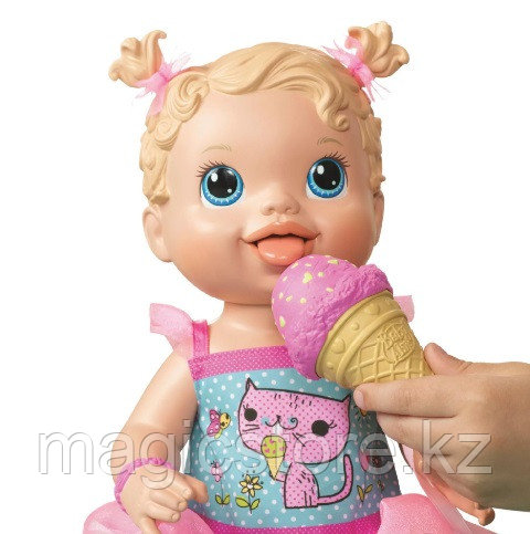 Пупс Hasbro Baby Alive Yummy Treat Baby Угощения для малышки - фото 3