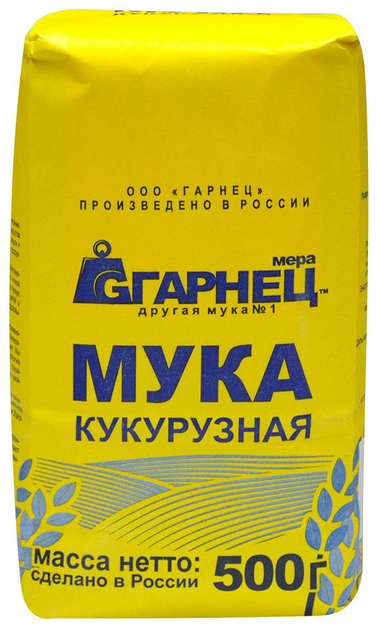 Мука Кукурузная, 500 гр «Гарнец»