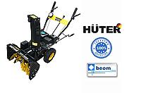 Снегоуборщик бензиновый 5.5 л.с Huter SGC 4000B от АКБ 12В, фото 1