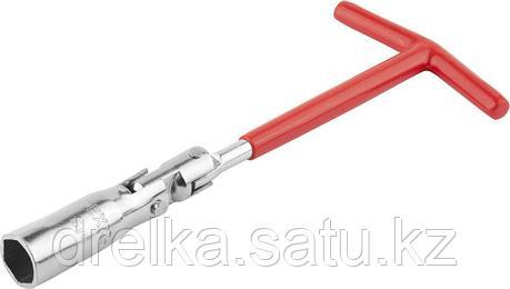 Ключ свечной DEXX с шарниром, 16мм, фото 2