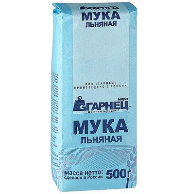 """Мука льняная """"Гарнец"""" 500 гр"""
