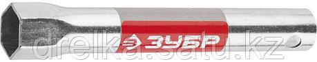 """Ключ свечной ЗУБР """"МАСТЕР"""" трубчатый, торцовый с резинкой, 160мм, 21мм   , фото 2"""