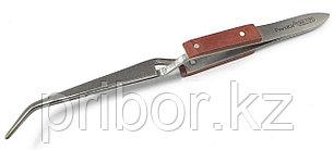 Pro'sKit 1PK-117T Пинцет обратного действия изогнутый, магнитный (160 мм)