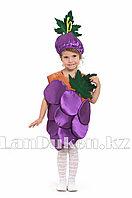 Карнавальный костюм детский овощи и фрукты 24-32 р (виноград)