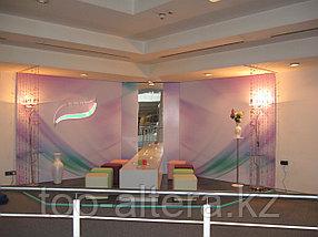 Оформление выставок и презентаций рекламной продукцией в Алматы