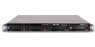 "Платформа Supermicro 1U SYS-5018R-M, Один процессор E5-2600v3/v4, Intel С612, 4x3.5"" Hot-swap SATA3"