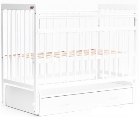 Bambini Кровать детская Bambini Евро стиль M 01.10.04 Белый