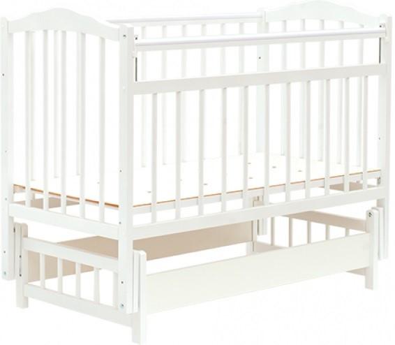 Bambini Кровать детская Bambini Классик M 01.10.11 Белый
