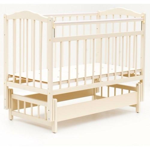 Bambini Кровать детская Bambini Классик M 01.10.11 Слоновая кость