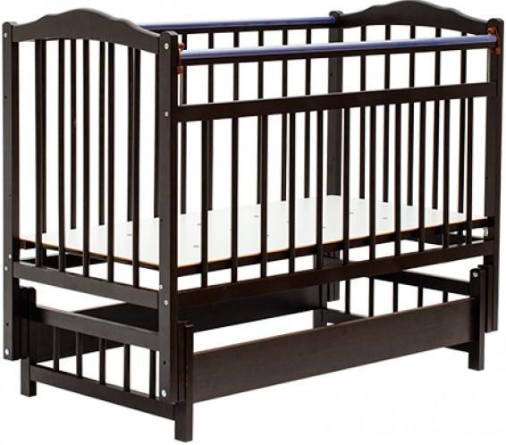 Bambini Кровать детская Bambini Классик M 01.10.11 Темный орех