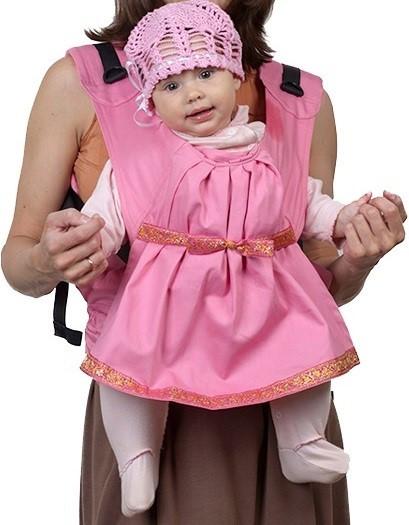 Чудо-Чадо Слинг-рюкзак Чудо-Чадо Дочкомобиль Розовый