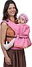 Чудо-Чадо Слинг-рюкзак Чудо-Чадо Дочкомобиль Розовый, фото 3