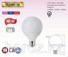 Светодиодная лампа Globe-16 Watt