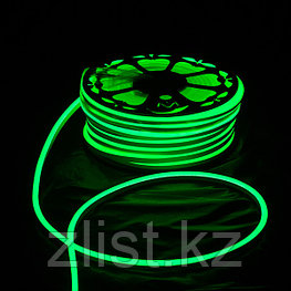 Гибкий неон LED зеленый