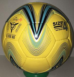 Футбольный мяч Star кожаный (размер 4) сшитый, фото 2