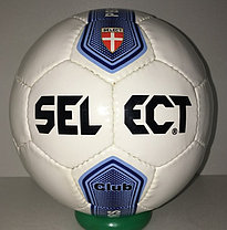 Футбольный мяч Select кожаный (размер 4) сшитый, фото 3