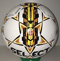Футбольный мяч Select Omega кожаный (размер 4) сшитый, фото 3