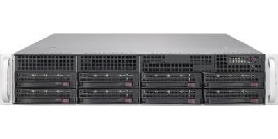 "Платформа Supermicro 2U SYS-6029P-WTR, Два процессора Intel Xeon Scalable, DDR4, 8x3,5"" HDD SATA, 2x1000Base-T"