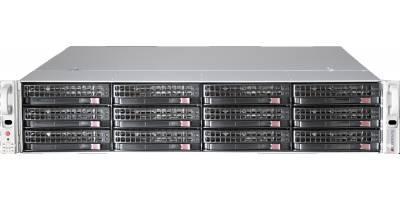 Версия для печати Платформа Supermicro 2U SSG-6029P-E1CR12T, Два процессора Intel Xeon Scalable