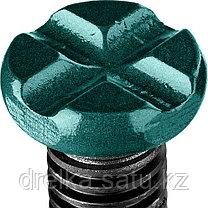 """Домкрат гидравлический бутылочный """"Kraft-Lift"""", сварной, 4т, 206-393мм, KRAFTOOL 43462-4, фото 2"""