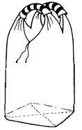 Мягкий контейнер 75х75х135 без вкладыша ( мешок ), 2 стропы