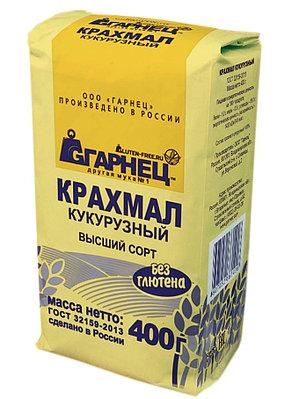 Кукурузный крахмал Гарнец, 400 гр