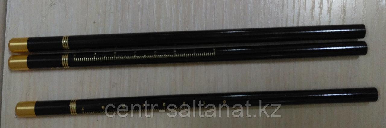Карандаш черный для нанесения эскиза на тело в Нур-Султане