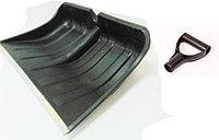 Лопата снегоуборочная без черенка