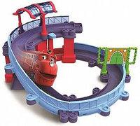 ЧаггингтонDie-Cast, Игровой набор «Станция техосмотра», с Уилсоном, фото 1