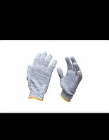 Перчатки рабочие х/б Бело-серые