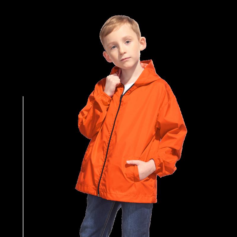 Детская промоветровка, StanRainJunior, 59J, Оранжевый (28), 8 лет