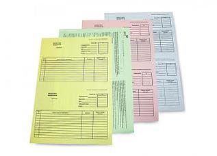 Счета,бланки,путевые листы автомобилиста,накладные, самокопирующиеся,