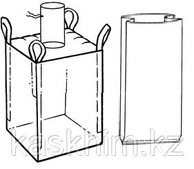 Мягкий контейнер 100х100х100 с вкладышем ( мешок ), 4 стропы
