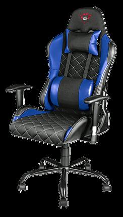 Игровое кресло Trust GXT 707B Resto синий, фото 2
