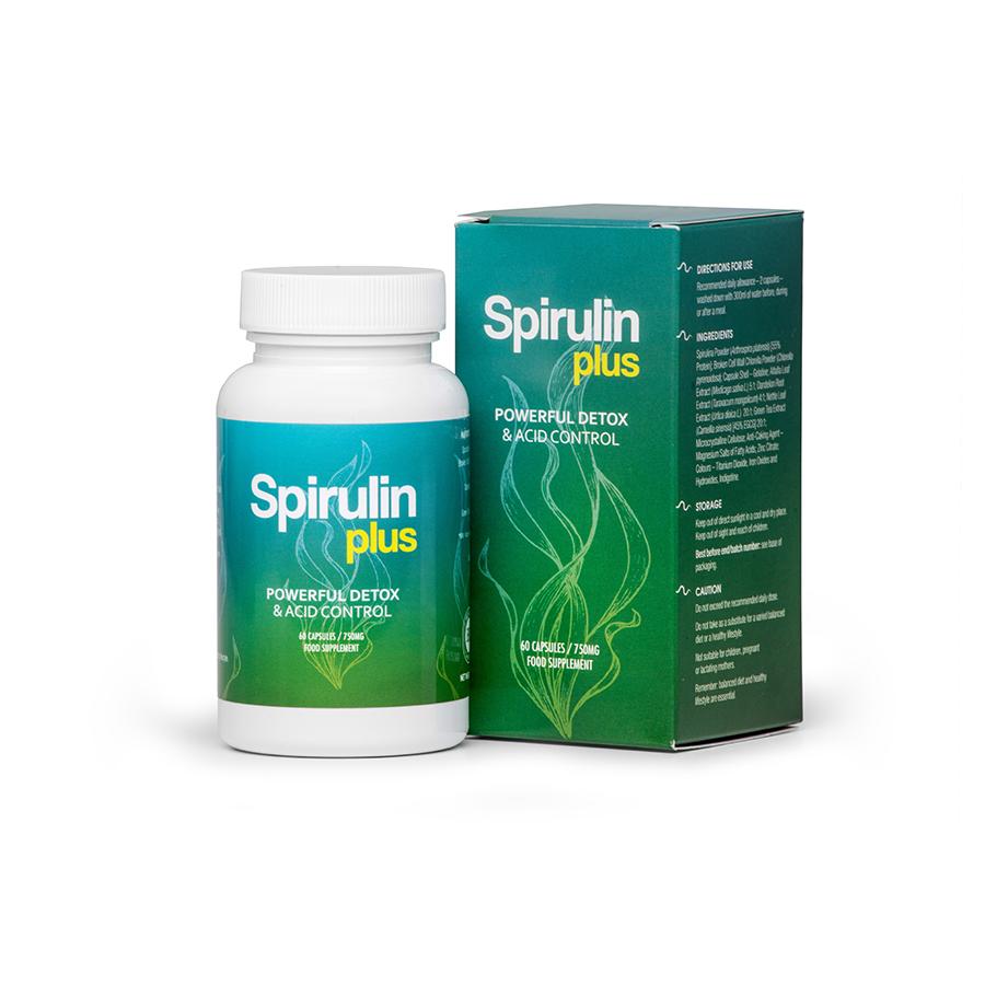 Spirulin Plus (Спирулин Плас) - капсулы для похудения