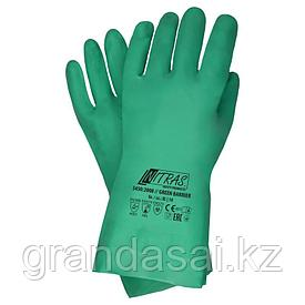 Химзащитные перчатки NITRAS GREEN BARRIER