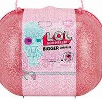 LOL Bigger Surprise - ЛОЛ Биггер сюрприз большой розовый чемоданчик!