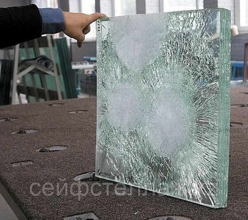 Бронированное стекло БР 1
