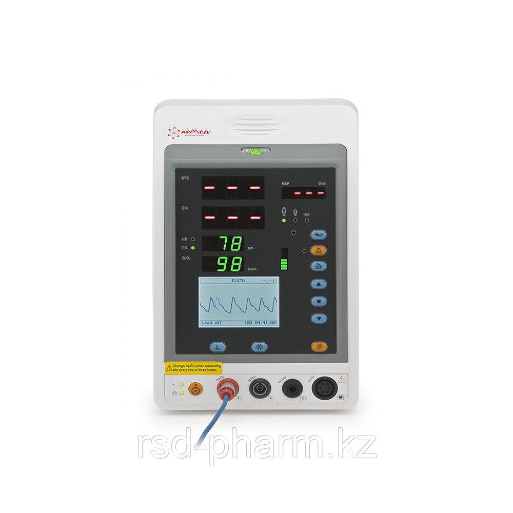"""Монитор прикроватный многофункциональный медицинский """"Armed"""" PC-900a (SpO2 + N1Bp + ECG)"""